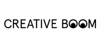 logo of the online magazine Creative Boom with the article about surreal fine art photographer erika zolli