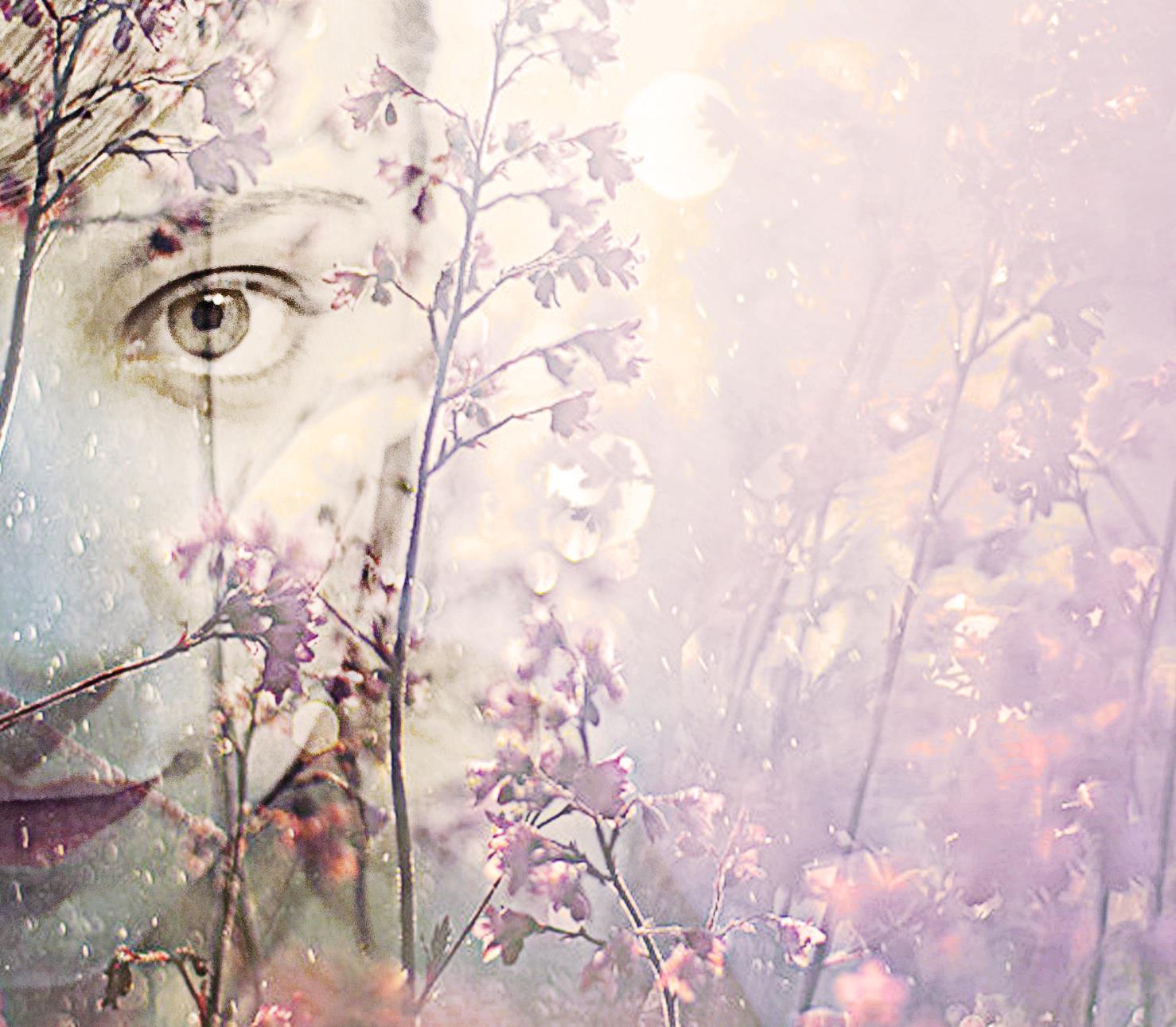 flowers, magic, portrait, creative, italian photography, woman