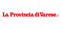 logo of the news papers La Provincia di Varese with the article about creative and surreal italian photographer Erika Zolli