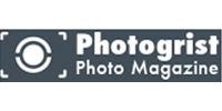 logo of the online magazine Photogrist with the article about creative photographer erika zolli