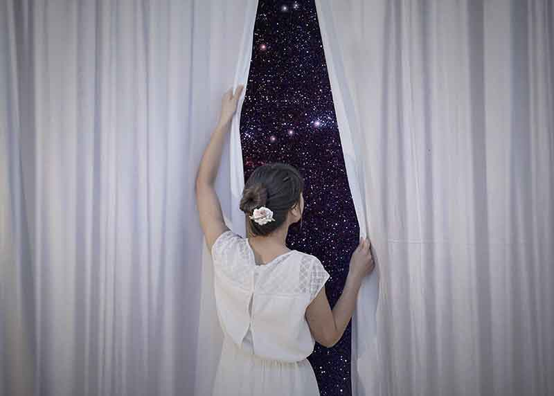 The photo was taken by the italian photographer Erika Zolli. In her photography she creates surreal and creative compositions