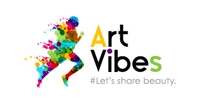 logo of the online magazine art vibes