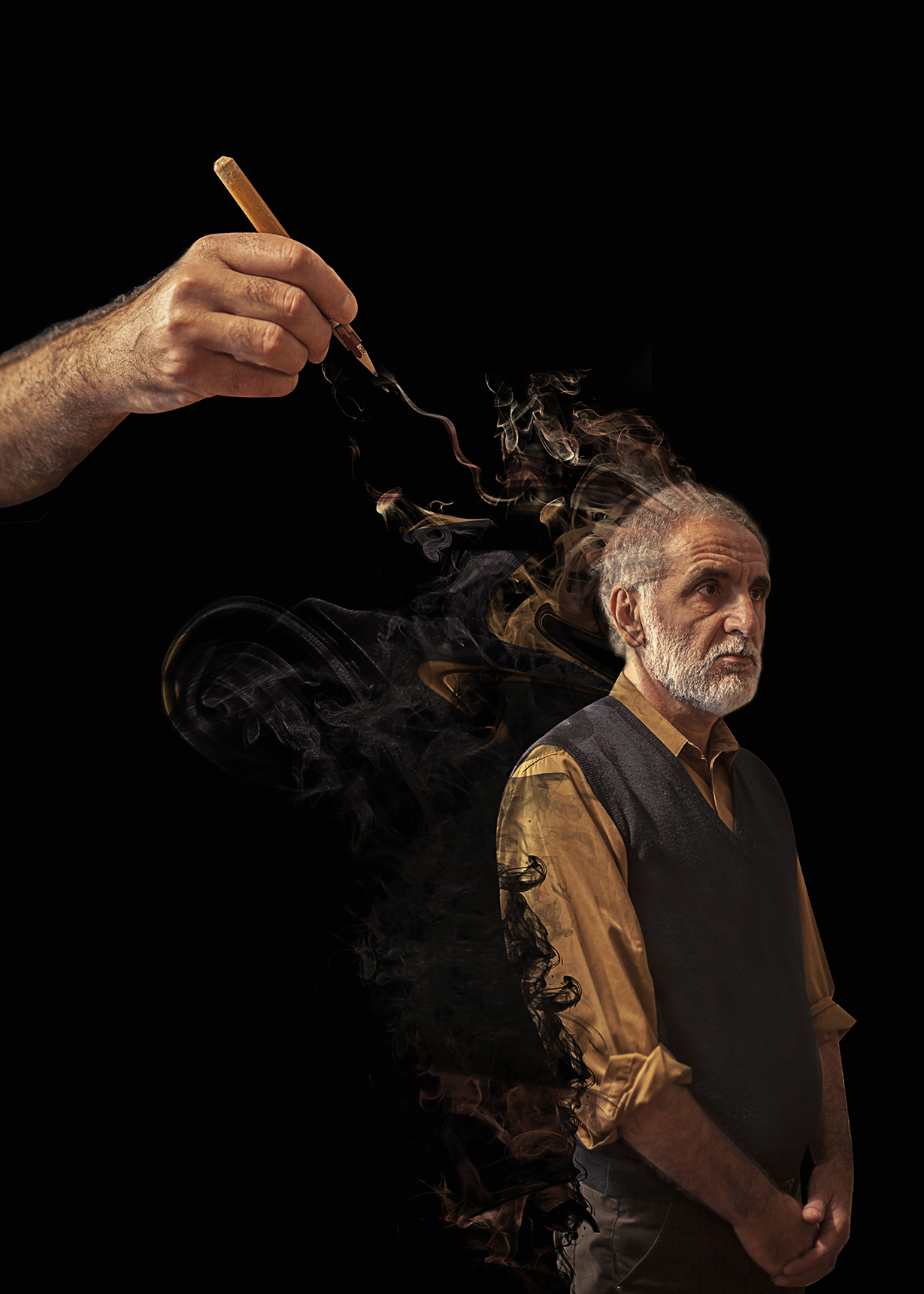 michele mari, italian writer, creative photography, fine art